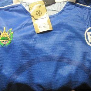 407583aa5 Shirts - 2XL Men s Soccer Jersey with Emblem of El Salvador